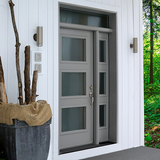 Exterior steel doors - Dimensions portes et fenêtres